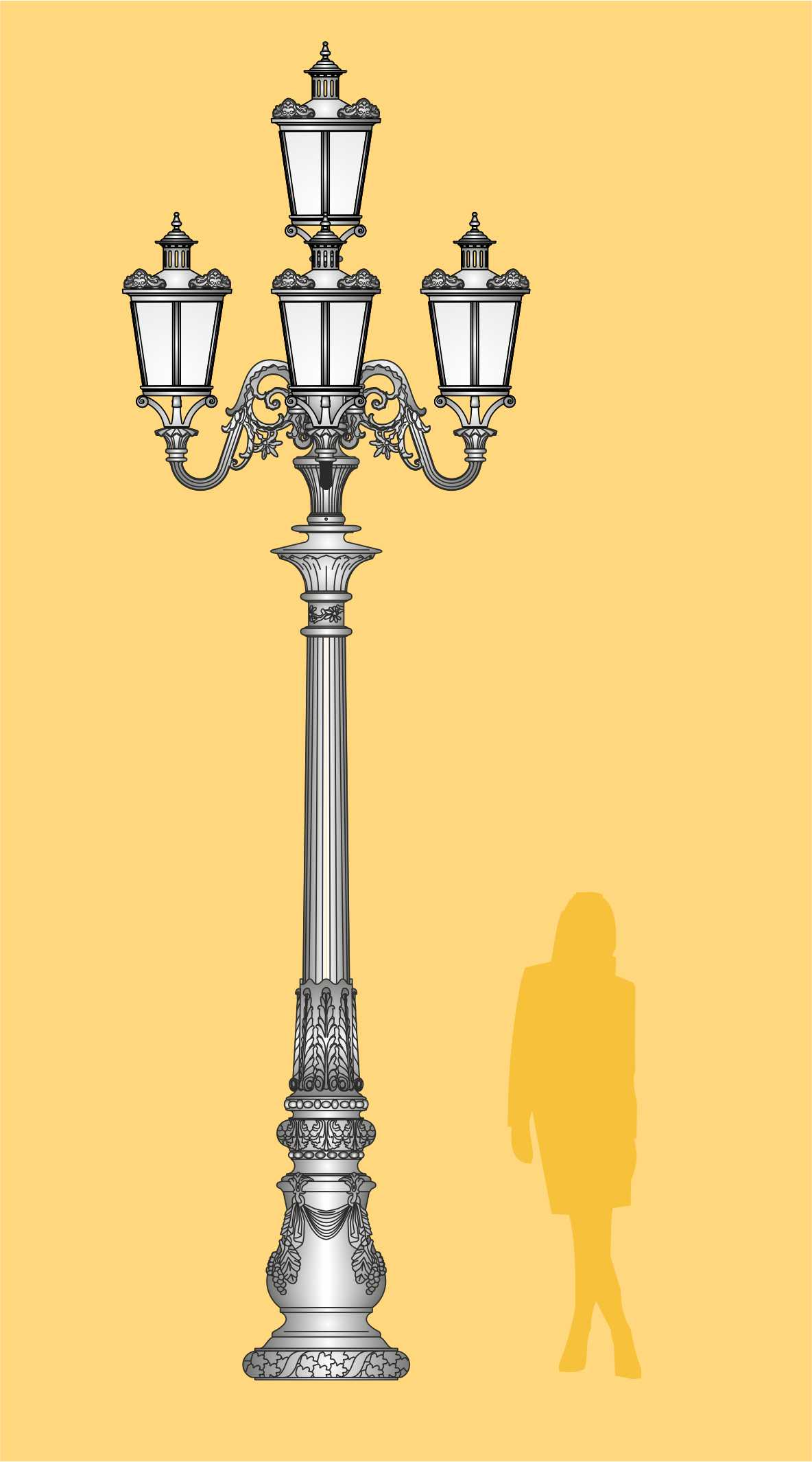 latarnia stylowa, latarnia LED, ekskluzywna latarnia ogrodowa